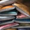 almohadones-lino-colores- eléctrica moderna